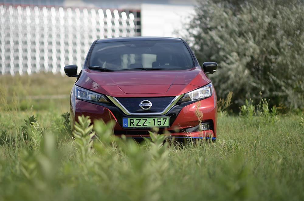 Nissan Leaf e+ 62kWh Teszt – eSzencia